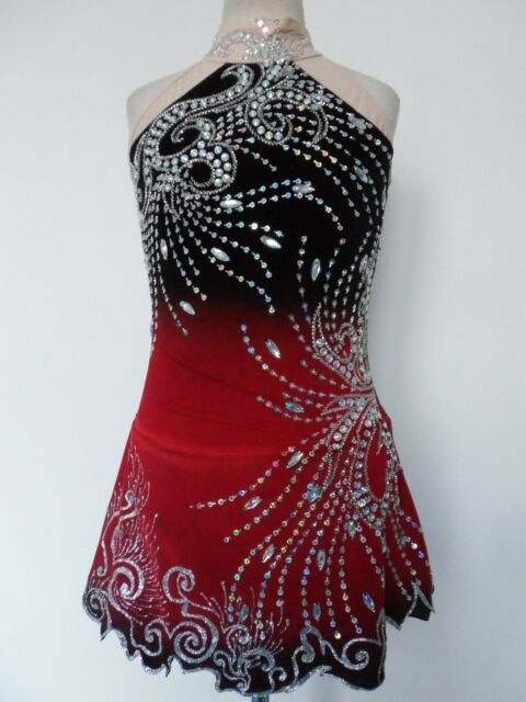 CUSTOMIZED NEW ICE SKATING BATON TWIRLING DRESS