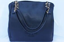 f9f89b6bccf5 Tory Burch Black Grained Leather Harper Tote Bag 137263 for sale ...