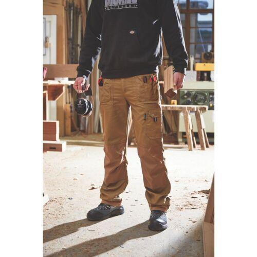 Dickies Eisenhower Pantalon de Travail Kaki Gris Multi Poche Hommes Eh26800