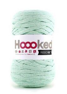 Hoooked-RibbonXL-120M-Cotton-Yarn-Knitting-Crochet-Early-Dew