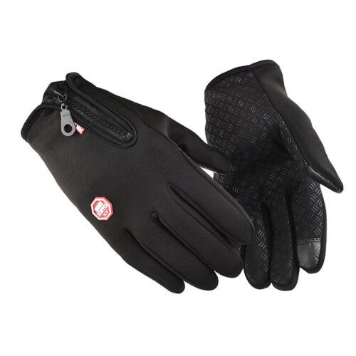 Waterproof Thermal Winter Gloves Touch Screen Warm Men Women Outdoor Ski Cycling