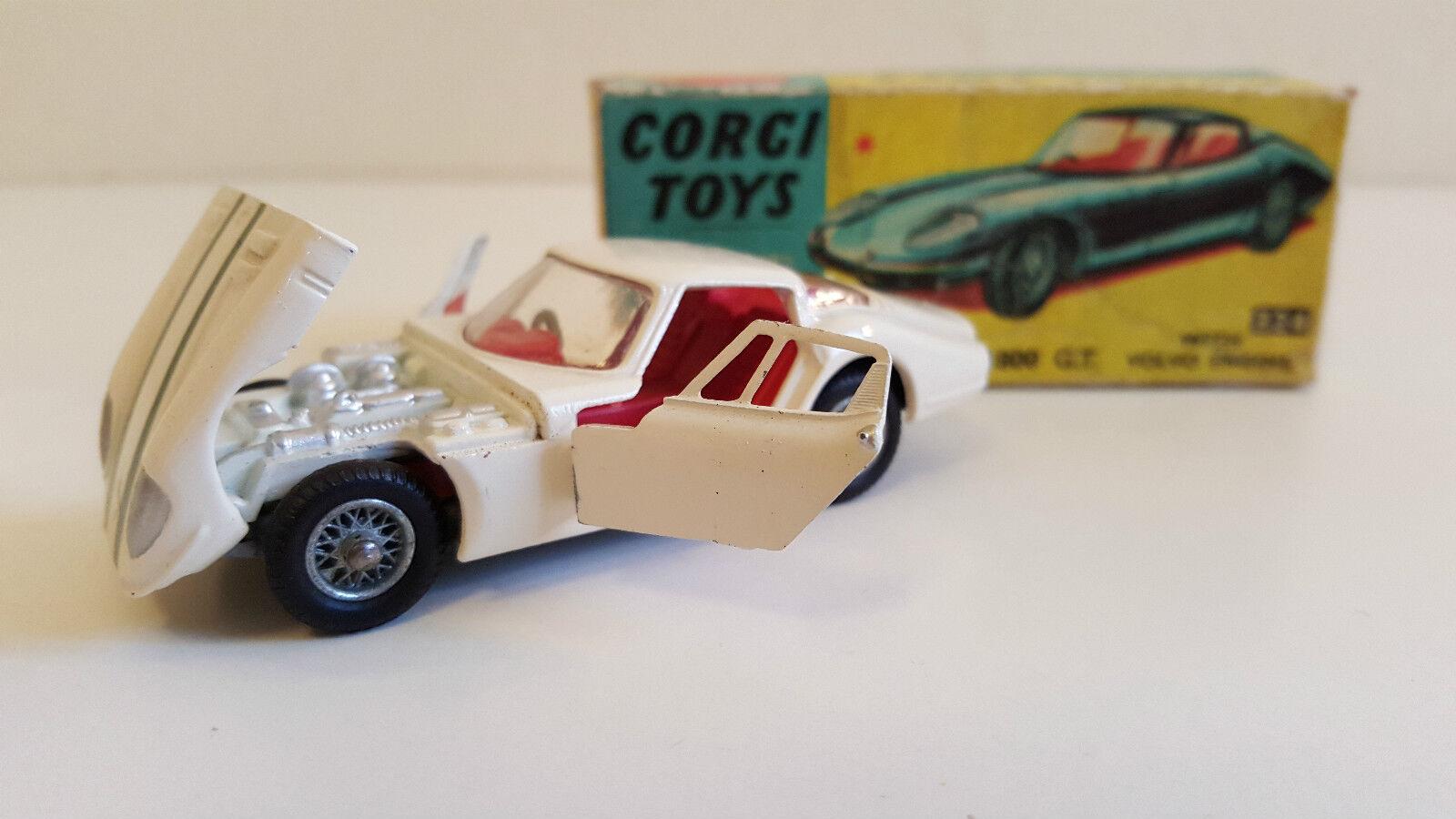 Corgi giocattoli  324  Marcos Volvo 1800 GT N Mib