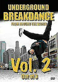 1 of 1 - NEW / SEALED - Underground Breakdance Vol. 2 (Two) (DVD 2006)