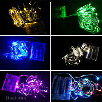 2M String Fairy Light 20 LED Battery Operated Xmas Lights Party Wedding Decor