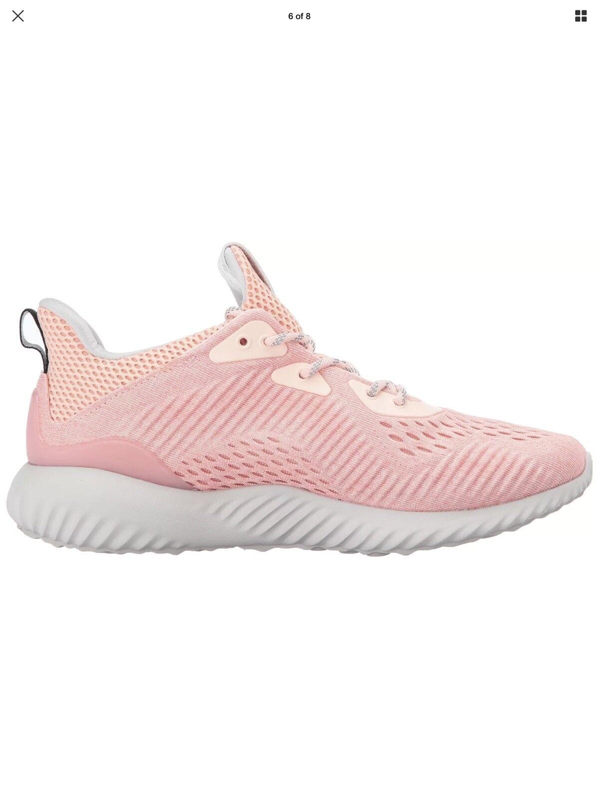 adidas performance frauen alphabounce em w spuren laufschuhe, eis, rosa / spuren w 3760d3