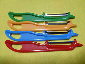Basic Plastic Potatoe Peeler Apples Potatoes Vegetables Left & Right Handed