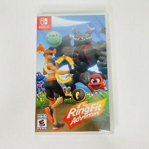 Ring Fit Adventure - Game Only (Nintendo Switch, 2019) New Factory Sealed