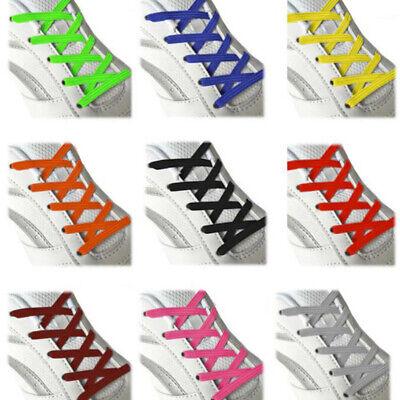 Elastic No Tie Shoelaces Sports Trainer Running Athletic Sneaks Shoe laces JKUS