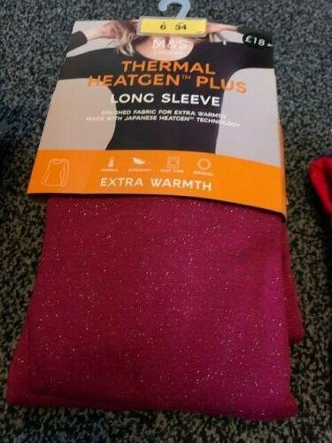 M/&S thermal heatgen plus womens wear