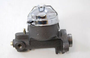 """Cast Iron GM 1955-64  Steel Master Cylinder 1"""" Bore One Port 7/16"""""""