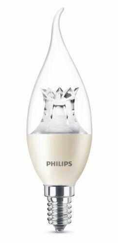 Philips LED Kerze E14 6W 470lm WarmGlow dimmbar warm Windstoß wie 40W Glühlampe