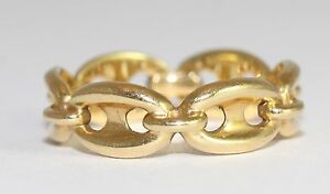 Links-Of-London-18ct-Yellow-Gold-Ring-Size-M
