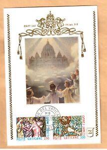 maximum maxi card 1980 Vatican Omnes Sancti