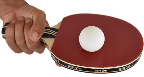 GearTOP 6 Star Table Tennis Racket Professional Ping Pong Paddle  /& Carrying Bag