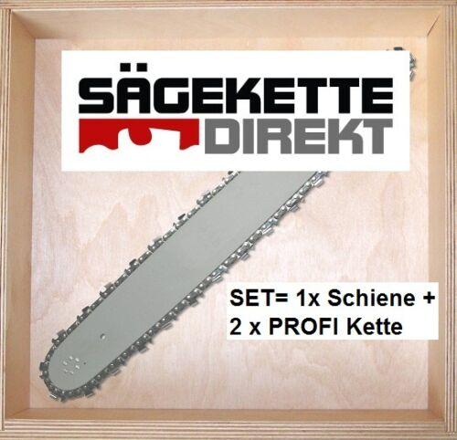 2x PROFI Sägekette 1x Führungsschiene zu EINHELL BG-PC 3735-35cm