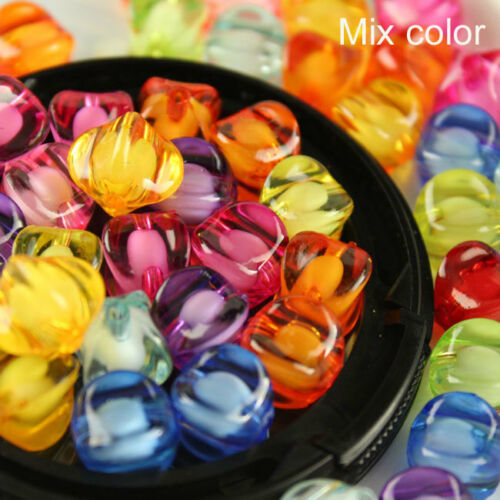 8//10//12mm mixed color Acrylic Watermelon spacer beads DIY beaded jewelry making