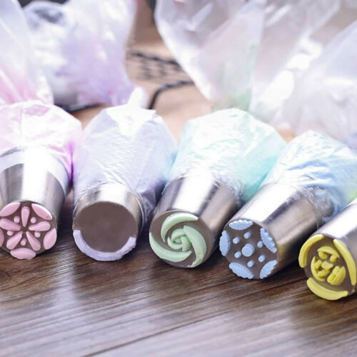 Russian Piping Tips 27P Baking Supplies Set cake Decorating Tools Cake Supplies