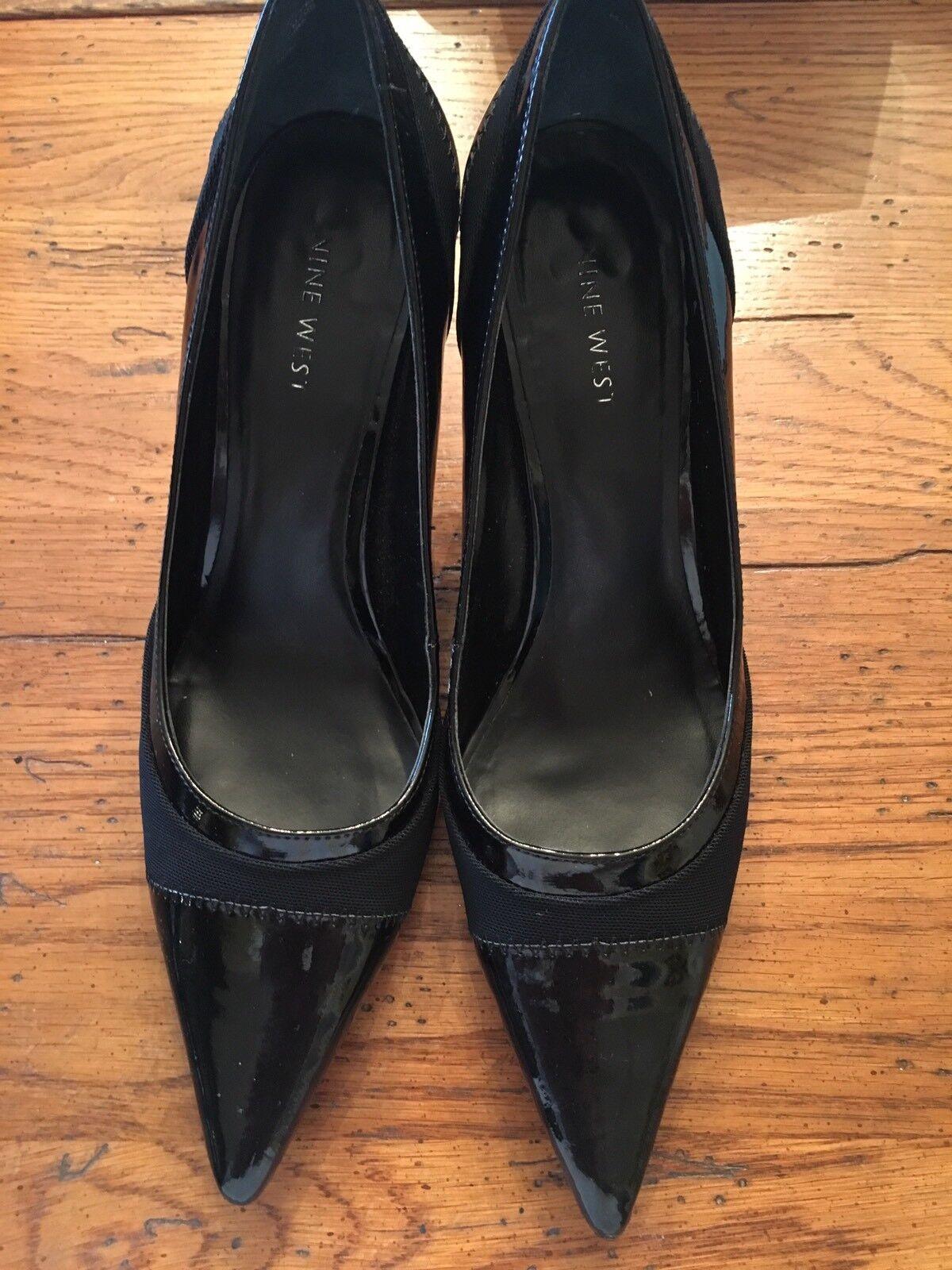 Nine West NALANIE Black Patent Leather