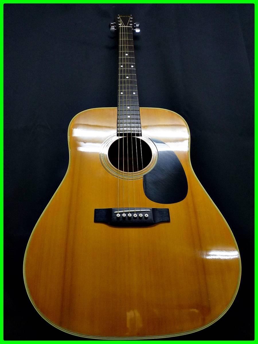 Morris Acoustic Guitar W-20 Made in Japan beutiful JAPAN rare useful EMS F S