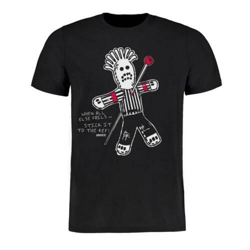 SCALLYWAG® Eishockey T-Shirt VOODOO REF Größe S 3XL für Eishockeyspieler