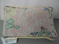 Usa Made Annie Danielson All Girl 12.5 X 8.5 Tapestry Word Pillow 292