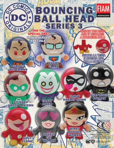 5 x DC Comic Originals Bouncey tête bille chiffres série 3 Mixte