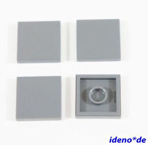 LEGO-STAR-WARS-Basico-construccion-4-unidades-Losa-2-x-2-NUEVO-GRIS-OSCURO-3068