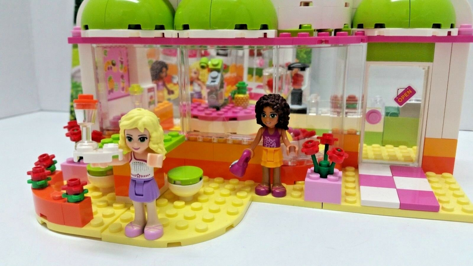 LEGO FRIENDS Heartlake Juice Bar INSTRUCTIONS INSTRUCTIONS INSTRUCTIONS 100% Complete  DR df86f1