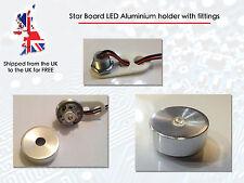 High Power LED Bead Mount Star Base holder bulk head aluminium case lens fitting