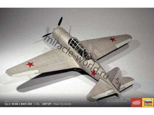 Sukhoi Zvezda 4805 Su-2 //soviet reconnaissance aircraft and light bomber// 1//48