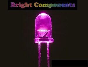 20-x-Pink-LED-5mm-Ultra-Bright-1st-CLASS-POST