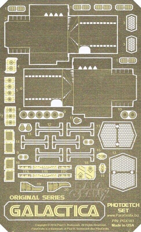 slåssstjärna Galactica (1978) Pvarmoetch set - PGX183