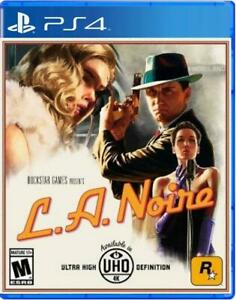 L.A. Noire Remastered PS4 (Sony PlayStation 4, 2017) Brand New - Region Free