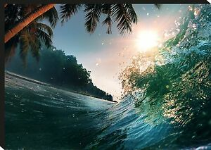 Sea Wave Surf Giant Poster Art Print A0 A1 A2 A3 A4 Sizes