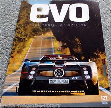 Evo Magazine Issue 127 - Pagani Zonda F Roadster