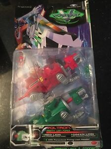 Voltron-Third-3rd-Dimension-Mighty-Lion-Force-Green-Red-Trendmasters-1998