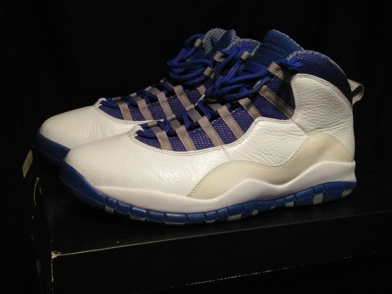 5c1a7cf7ffb Mens air Jordan retro 10 royal bluee used 11.5 100% authentic 90 ...