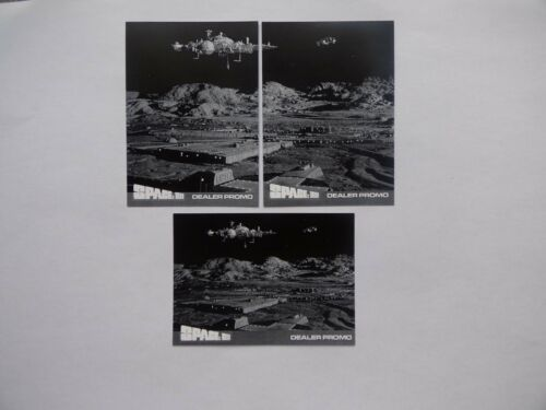 Space 1999 series 2 printers proof  dealer promo card set TCP1-TCP2-TCP3