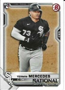 Yermin Mercedes Chicago White Sox  2021 Panini National Convention Rookie Card