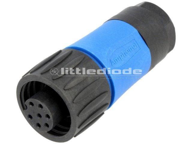 C01630D00610010 Verbindung Runde Stecker mit Kabelklemme Buchse PIN7