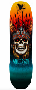 Powell Peralta Andy Anderson Heron Flight 289 Deck 8.45 x 31.8