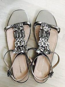 Ermanno-Scervino-Sandals-Shoes-Sandali-Women-Donna-Size-38-5