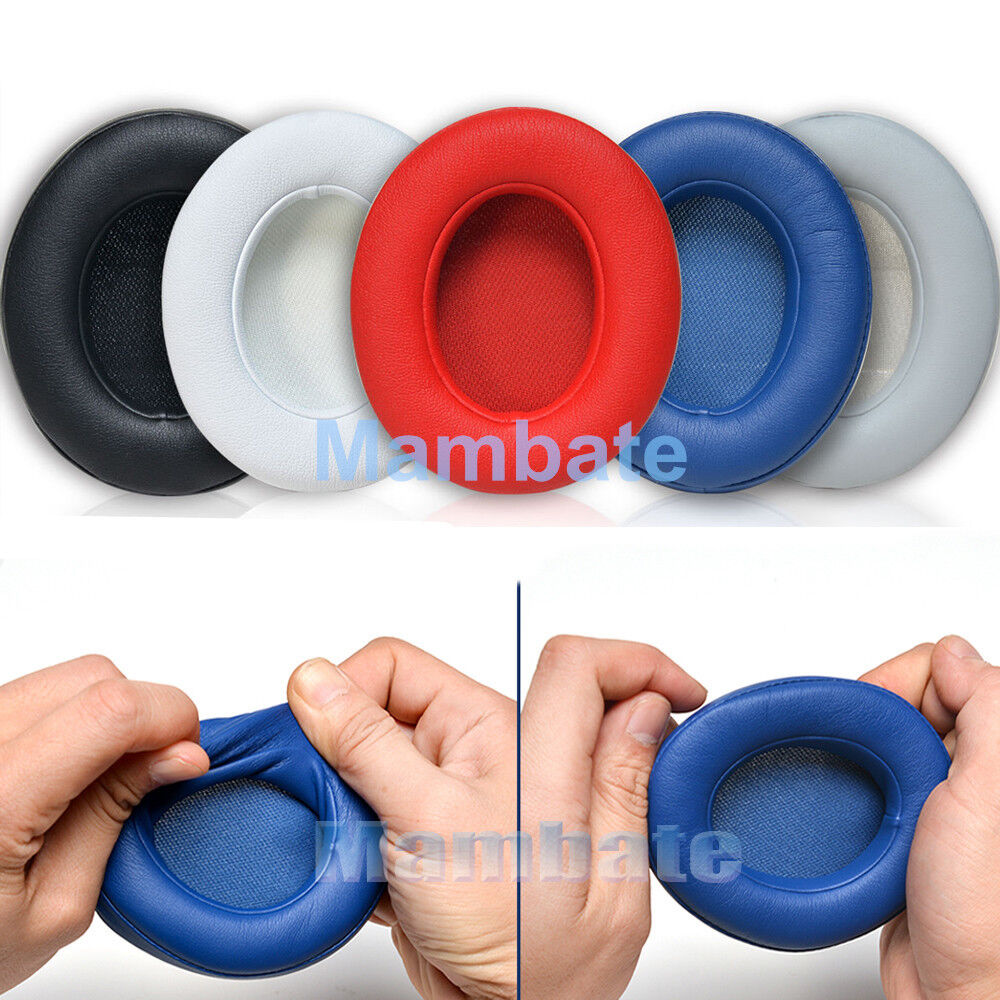 2x Replacement Ear Pad Cushion for Beats by dr dre Studio 2.0 Headphone Wireless 1