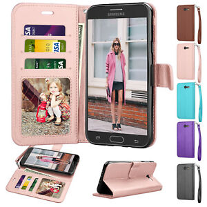 For-Samsung-Galaxy-J3-Luna-Pro-J3-Emerge-Mission-SM-J327A-Leather-Case-Cover
