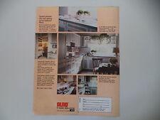 advertising Pubblicità 1982 CUCINE ALNO - FIRENZE
