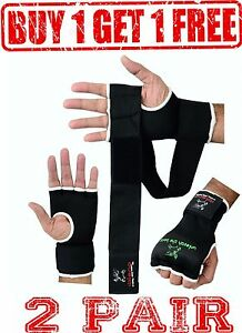 2-Pair-Evo-GEL-Inner-Gloves-Boxing-Bag-Hand-Wraps-MMA-Grappling-Martial-Art-UFC