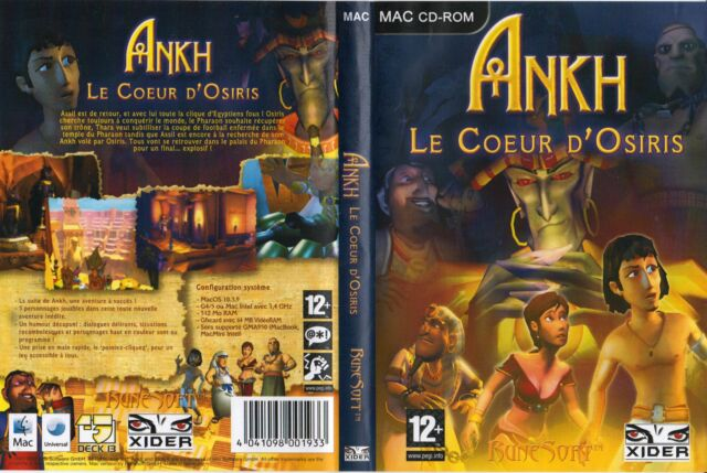 Ankh 2 : Le Coeur d'Osiris - MAC CD-ROM