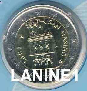2 EURO BU SAINT MARIN ANNEE 2003