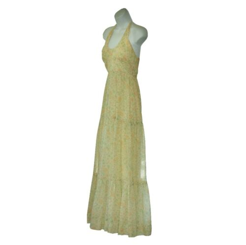 70s Candi Jones Prairie Maxi Dress