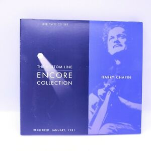Harry-Chapin-Encore-Collection-The-Bottom-Line-Records-Live-2-CDs-January-1981